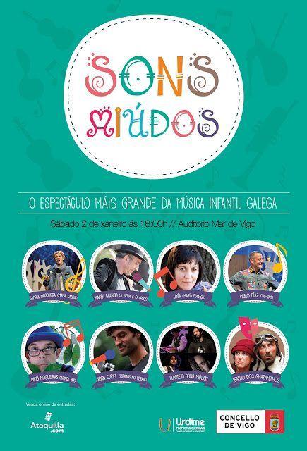 SORTEO Sons Miúdos: 15 años de música infantil