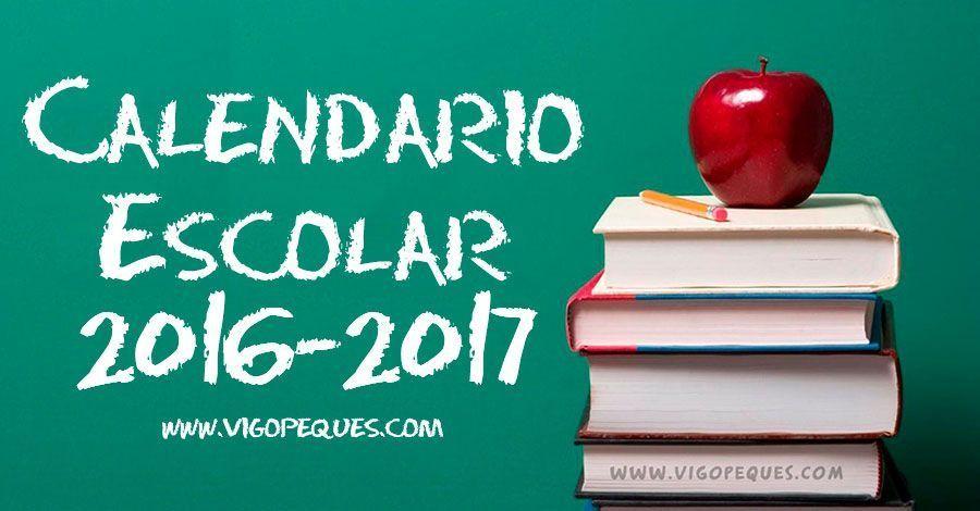 Portada calendario escolar de galicia curso 16-17