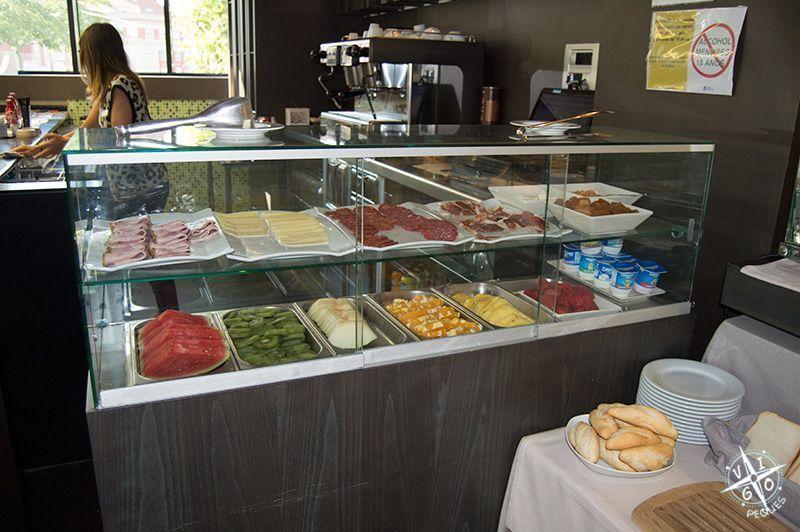 Desayuno en el Hotel Spa Bienestar Moaña
