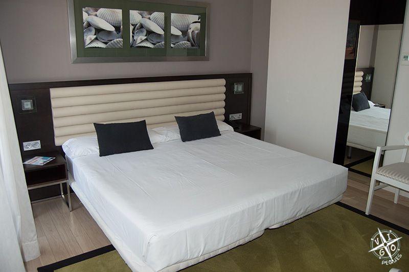 Habitación del Hotel Spa Bienestar Moaña