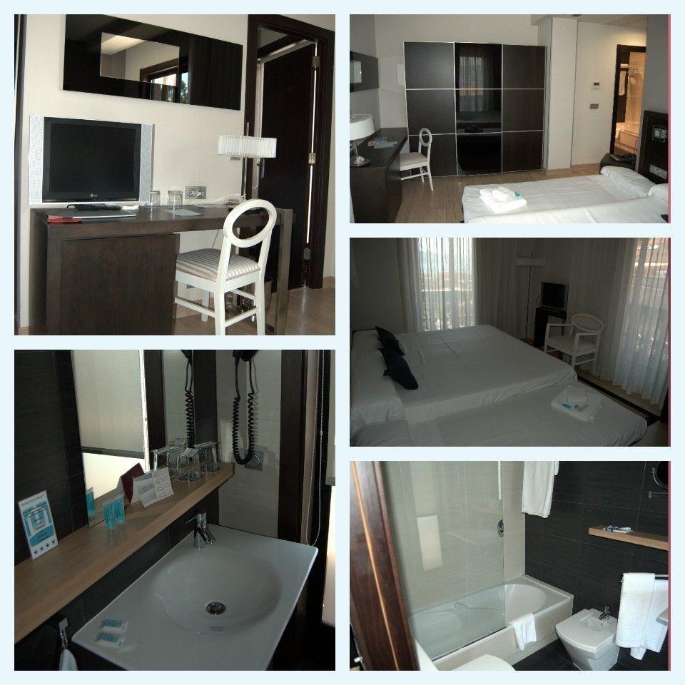 Habitaciones del Hotel Spa Bienestar Moaña