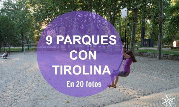 9 Parques con Tirolina en 20 fotos