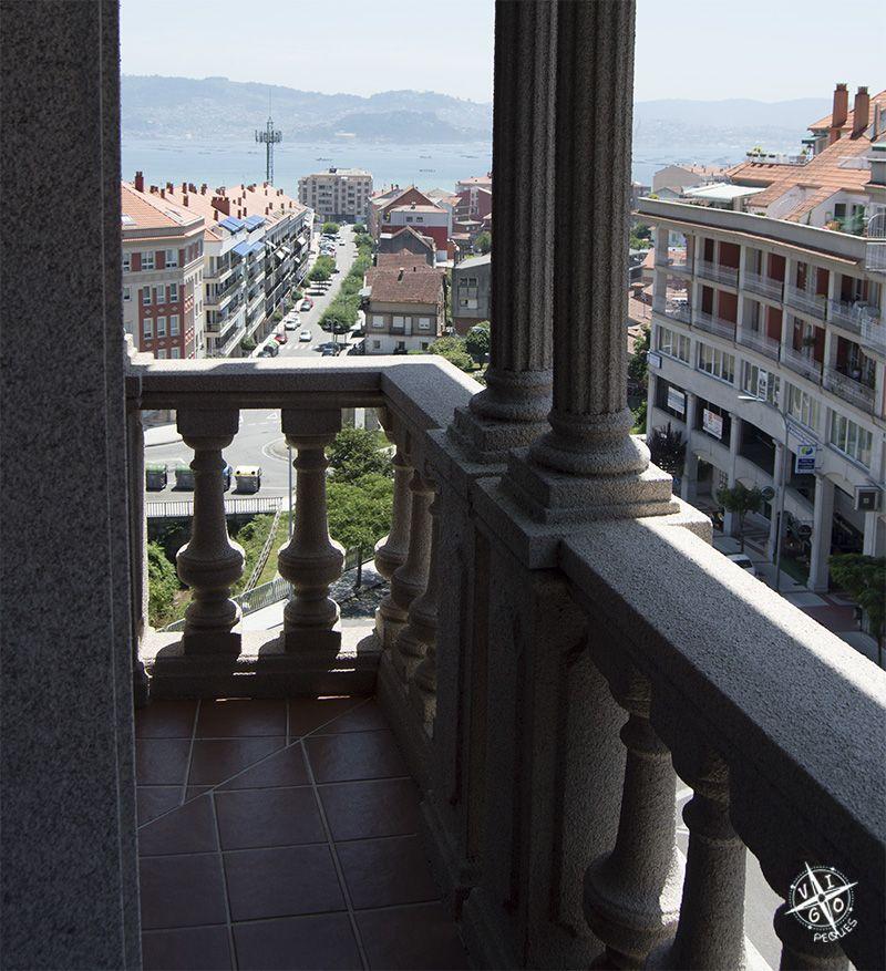 Vistas desde el Hotel Bienestar Moaña