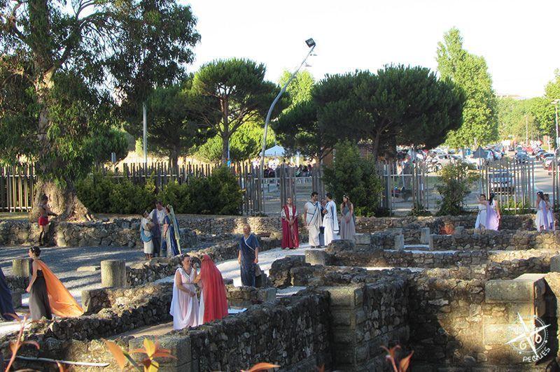 Villa Romana Toralla: Visita teatralizada de las distintas instancias de las villa