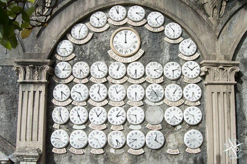Los 41 relojes del Parque del Pasatiempo