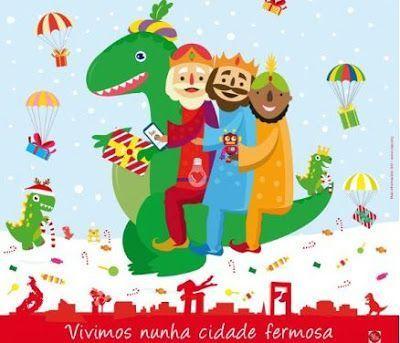 Parque jurásico de Navidad en Vigo