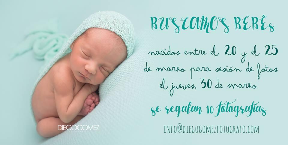 Se buscan bebés para sesión de fotos