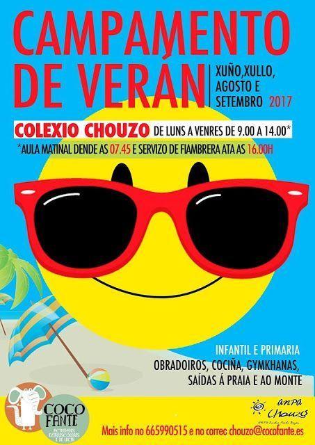 Campamento de Verano en el Colegio Chouzo, Vigo.