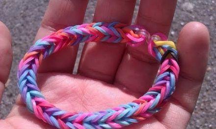 Rainbowloom y como hacer pulseras con gomitas