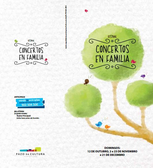 Conciertos en familia en Pontevedra
