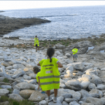 Jornada de limpieza de playas en familia
