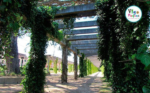 Pérgola del Parque A Riouxa de Vigo
