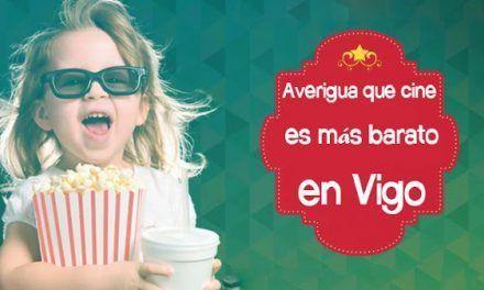 Averigua que cine es más barato en Vigo