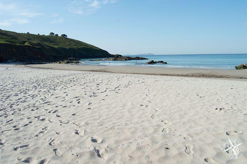 Playa de Bascuas en Sanxenxo
