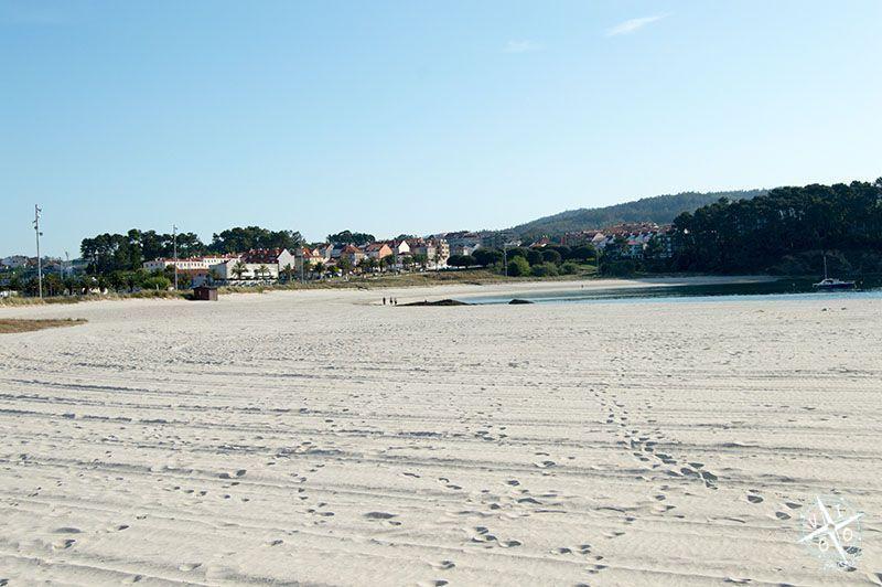 Playa de Baltar en Portonovo