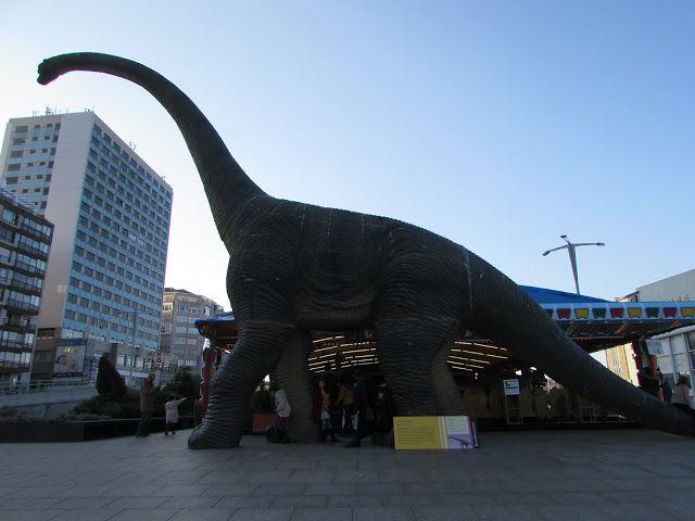 Vigo: La ciudad de los dinosaurios