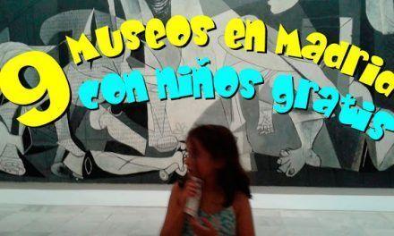 9 Museos en Madrid con niños gratis
