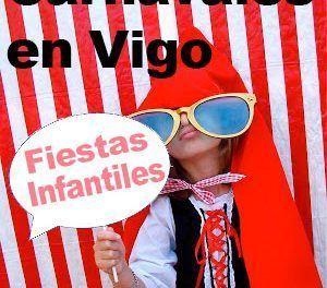 Fiestas infantiles de carnaval en Vigo