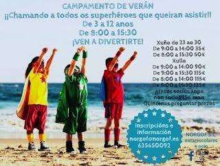 Campamento de Verán en Vigo - COLEGIO O POMBAL