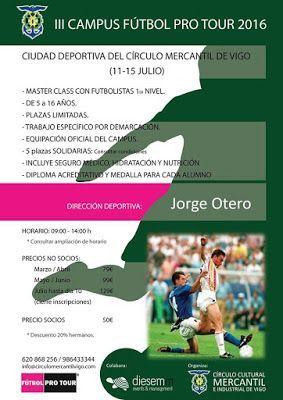 Campus fútbol en Vigo - MERCANTIL