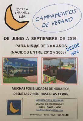 Campamento infantil en Vigo - ESCUELA INFANTIL LUA