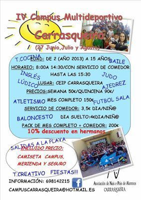 Campamentos multideporte en Vigo - COLEGIO CARRASQUEIRA