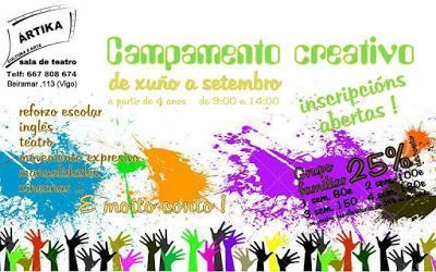 Campamento de creativo en Vigo - ARTIKA