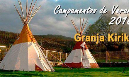 Campamentos de verano en Granja Kiriko