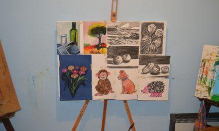 Aula Galiart y sus cursos de pintura para niños