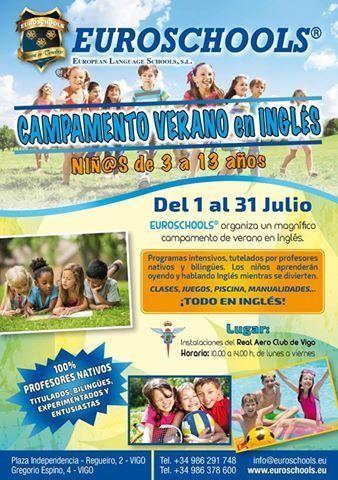 Euroschools Vigo - Campamentos de Verano