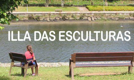 Isla de las Esculturas de Pontevedra
