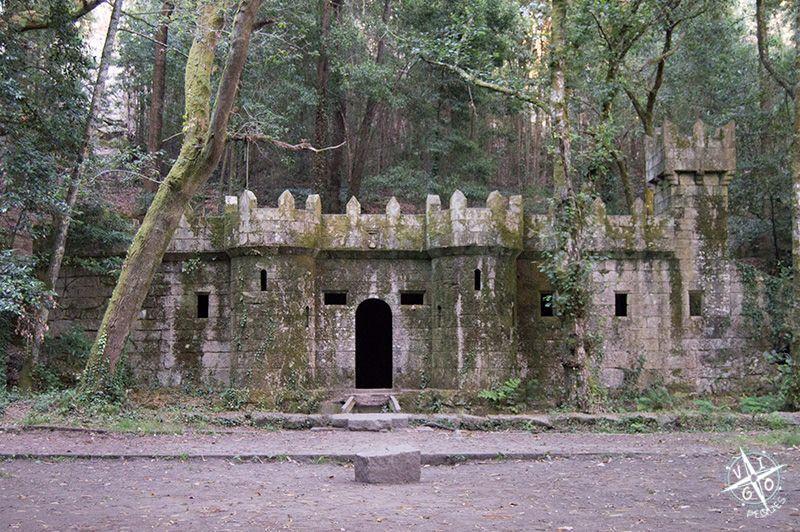castillo del bosque encantado