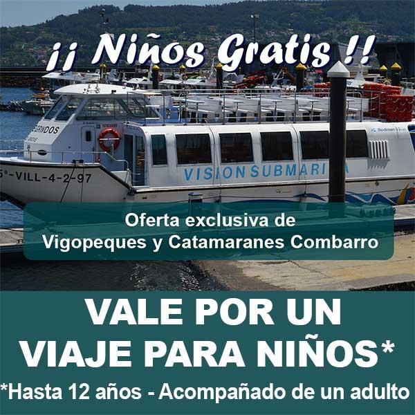 Oferta de Catamaranes Combarro con Vigopeques
