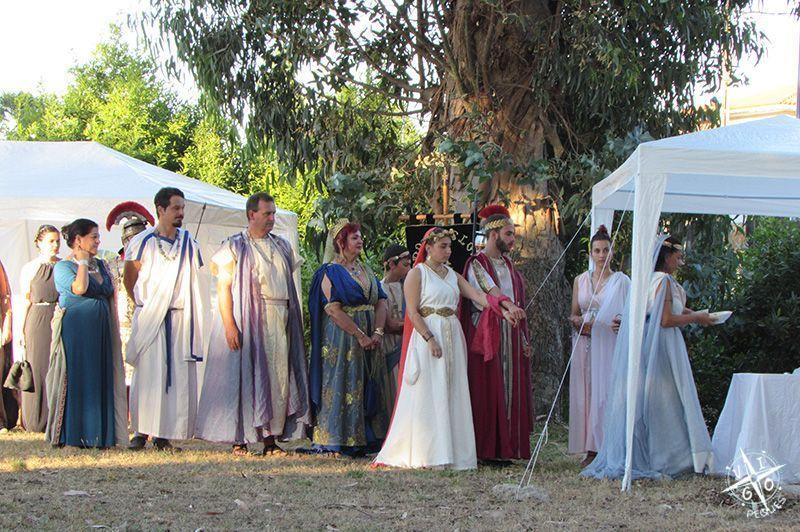 Centro arqueológico de Toralla: Visita teatralizada, representación de una boda romana