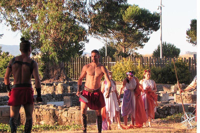 Centro arqueológico de Toralla: Visita teatralizada, lucha de gladiadores
