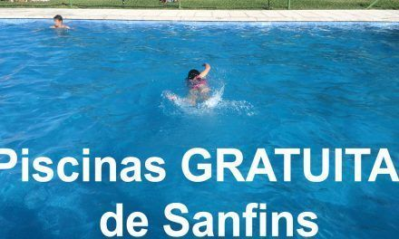 Piscinas GRATUITAS de Sanfins