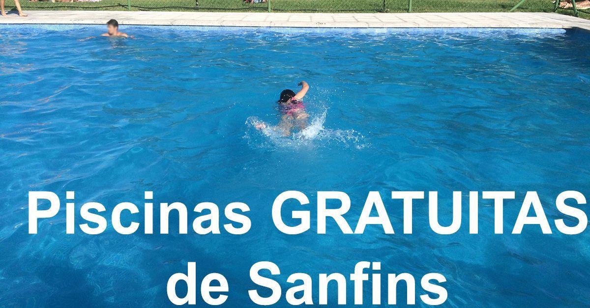 Piscinas GRATUITAS de Sanfins y Boivão
