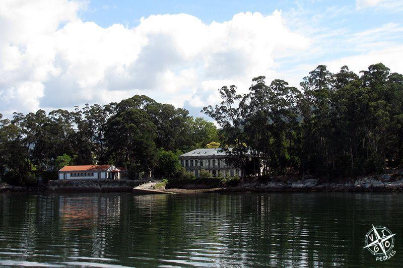 Isla De San Simon La Isla Del Pensamiento Vigopeques