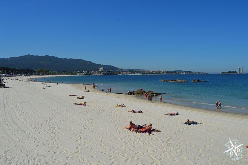 Las mejores playas para ir con niños en Vigo, Playa de Samil