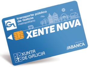 Transporte gratis con TARJETA XENTE NOVA