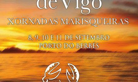 Mariscada en familia, en la Fiesta del Marisco de Vigo