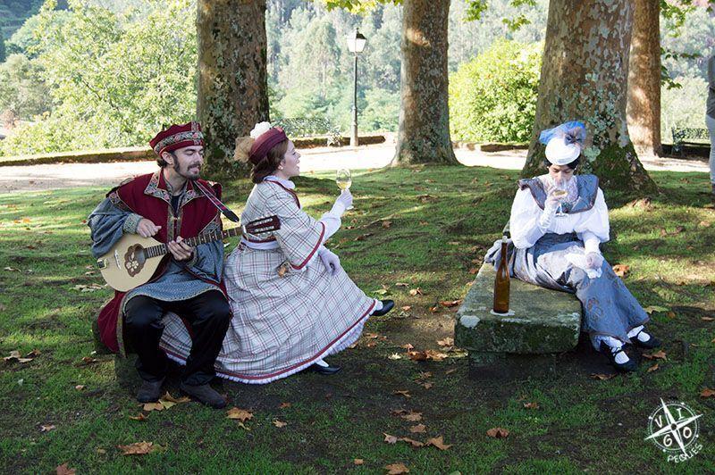 Visita teatralizada en el Castillo de Soutomaior