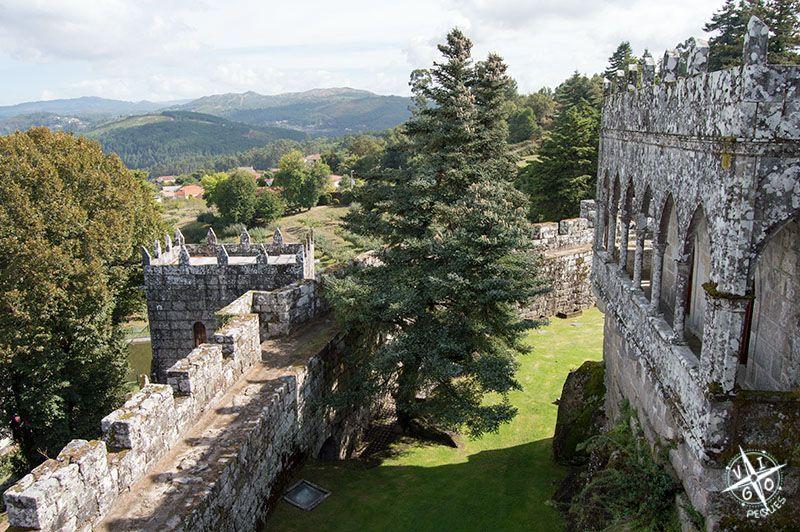 Castillo de Soutomaior, vistas desde la torre