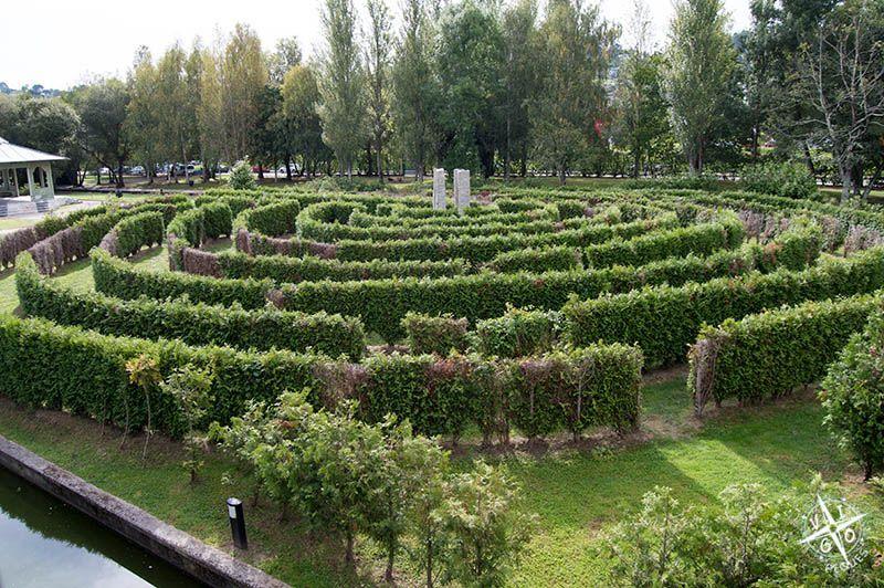 Laberinto vegetal del Parque del Pasatiempo