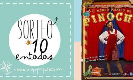 SORTEO: O mundo máxico de Pinocho