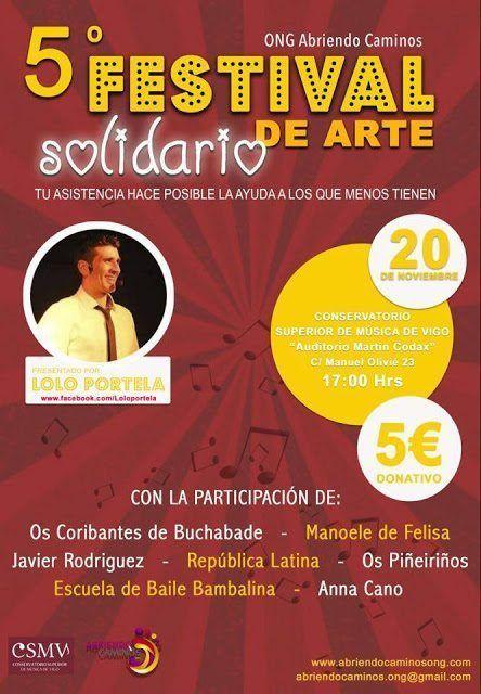 Eventos solidarios en Vigo