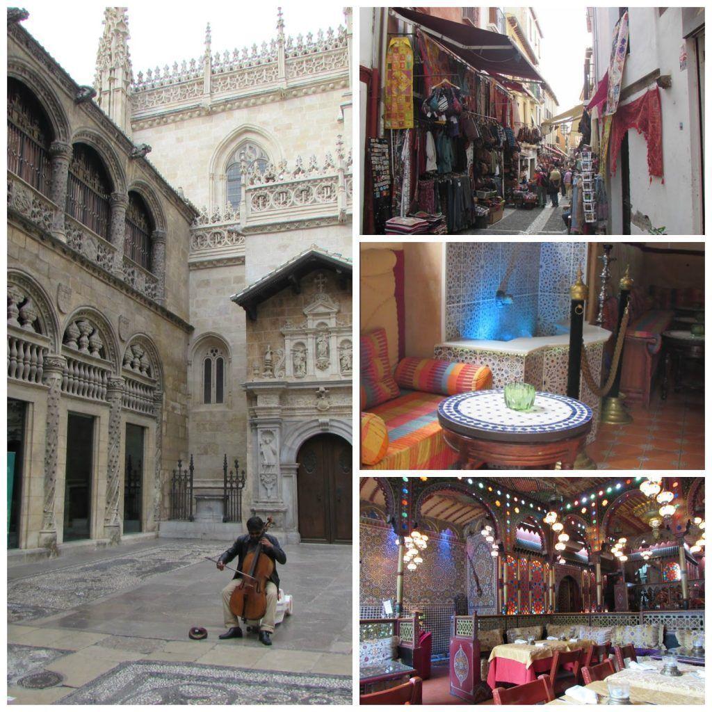Visitando Granada, la Catedral, las teterías, la zona