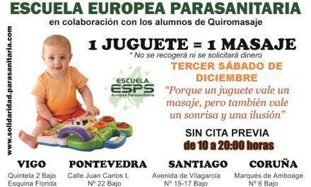 Masajes por juguetes en Galicia