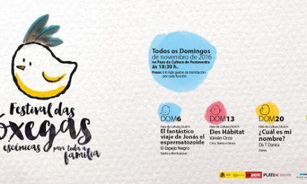 Festival das Cóxegas: Danza, títeres y teatro para los más pequeños