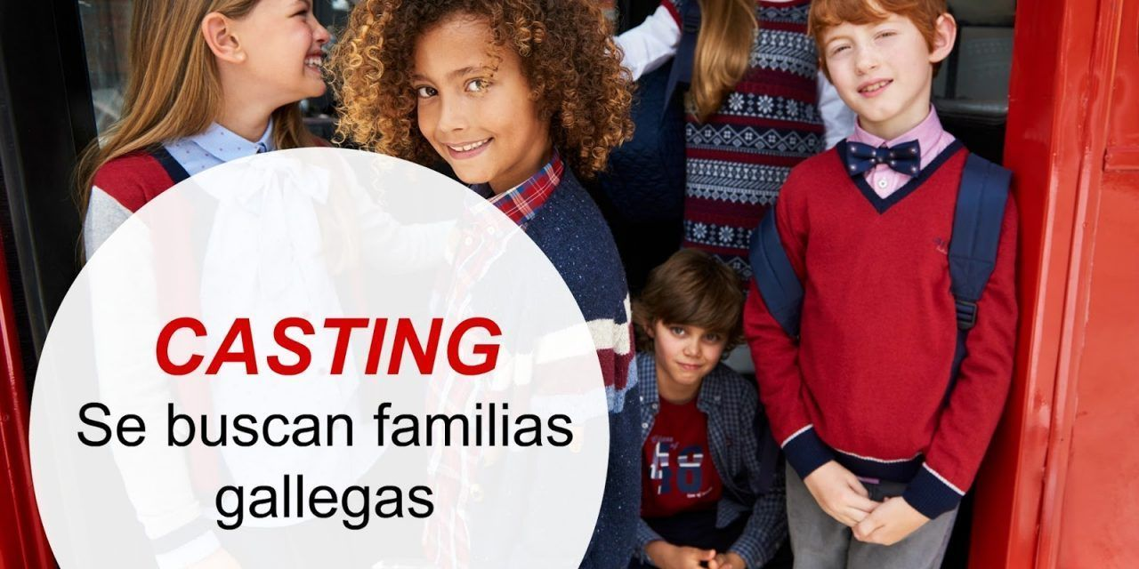 Casting para familias gallegas